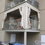 Canevas Mirabel auvent résidentiel pour condo