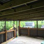 Canevas Mirabel auvent résidentiel intérieur