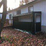 Canevas Mirabel auvent résidentiel abris d'hiver